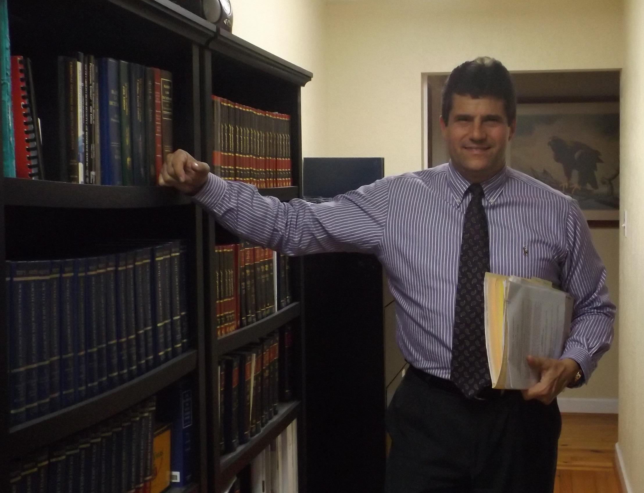 Criminal defense attorney Richard Gustafson